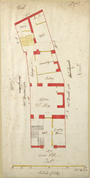 [Plan of the Property at Tower Hill]